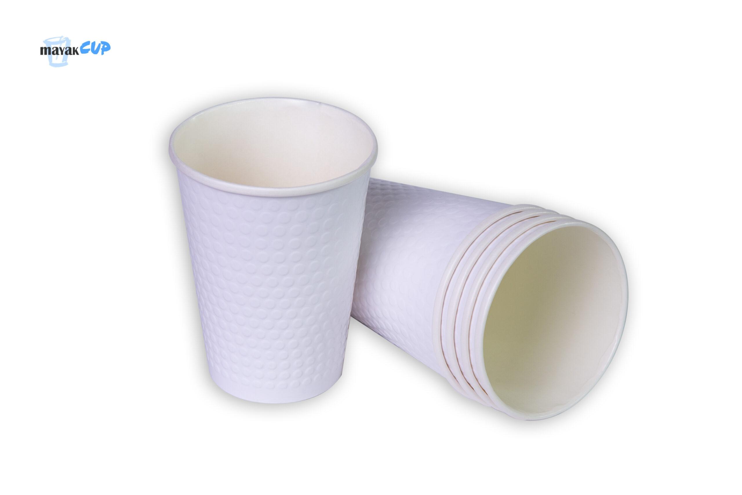 Двухслойный стакан «Bubble white» 425 мл