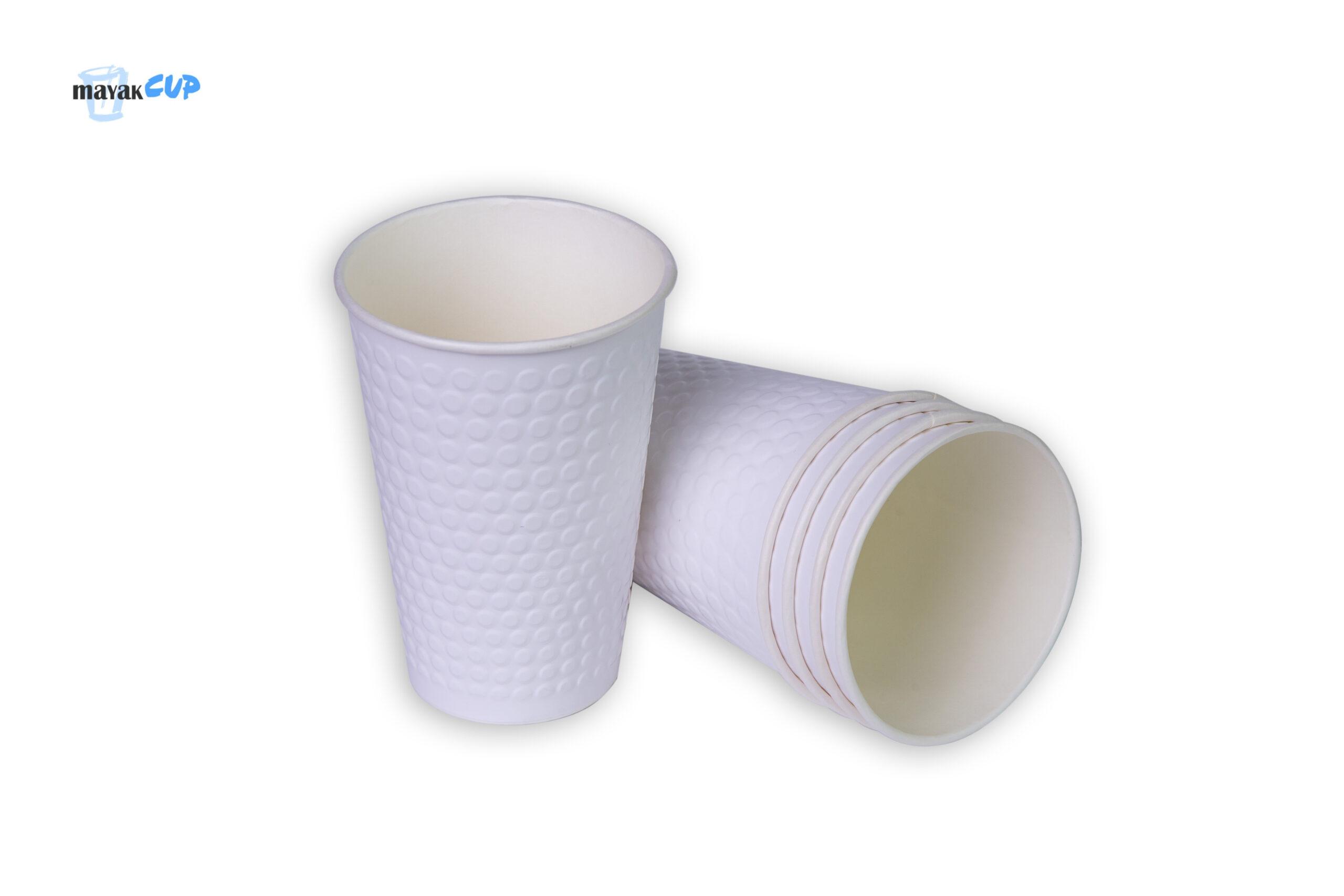 Двухслойный стакан «Bubble white» 330 мл