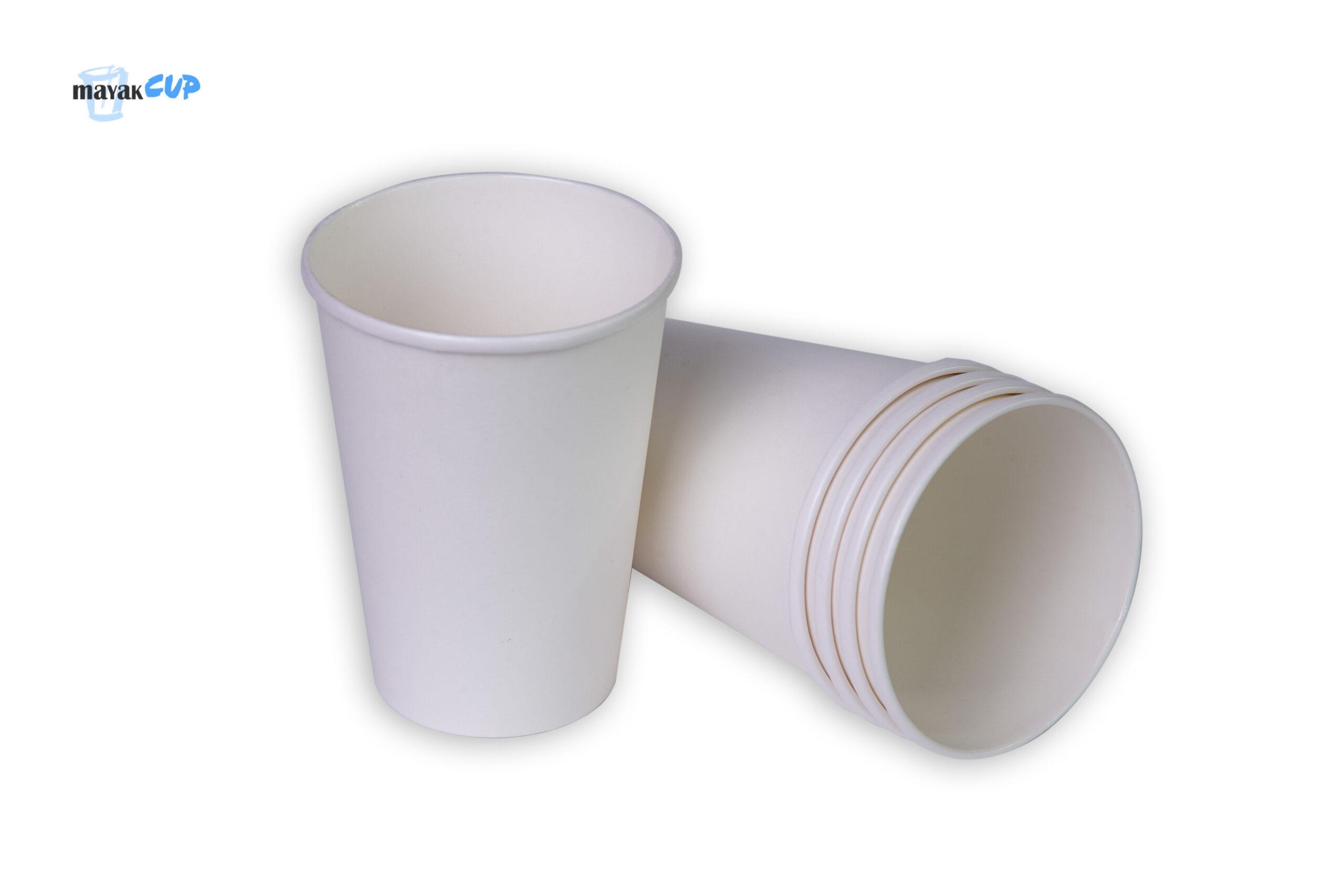 """Паперовий стаканчик """"Білий"""" 425 мл"""