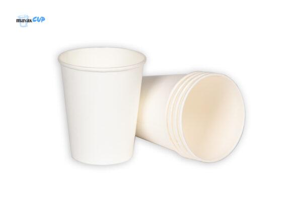 """Бумажный стакан 260 мл """"Белый"""" 234 г/м2"""