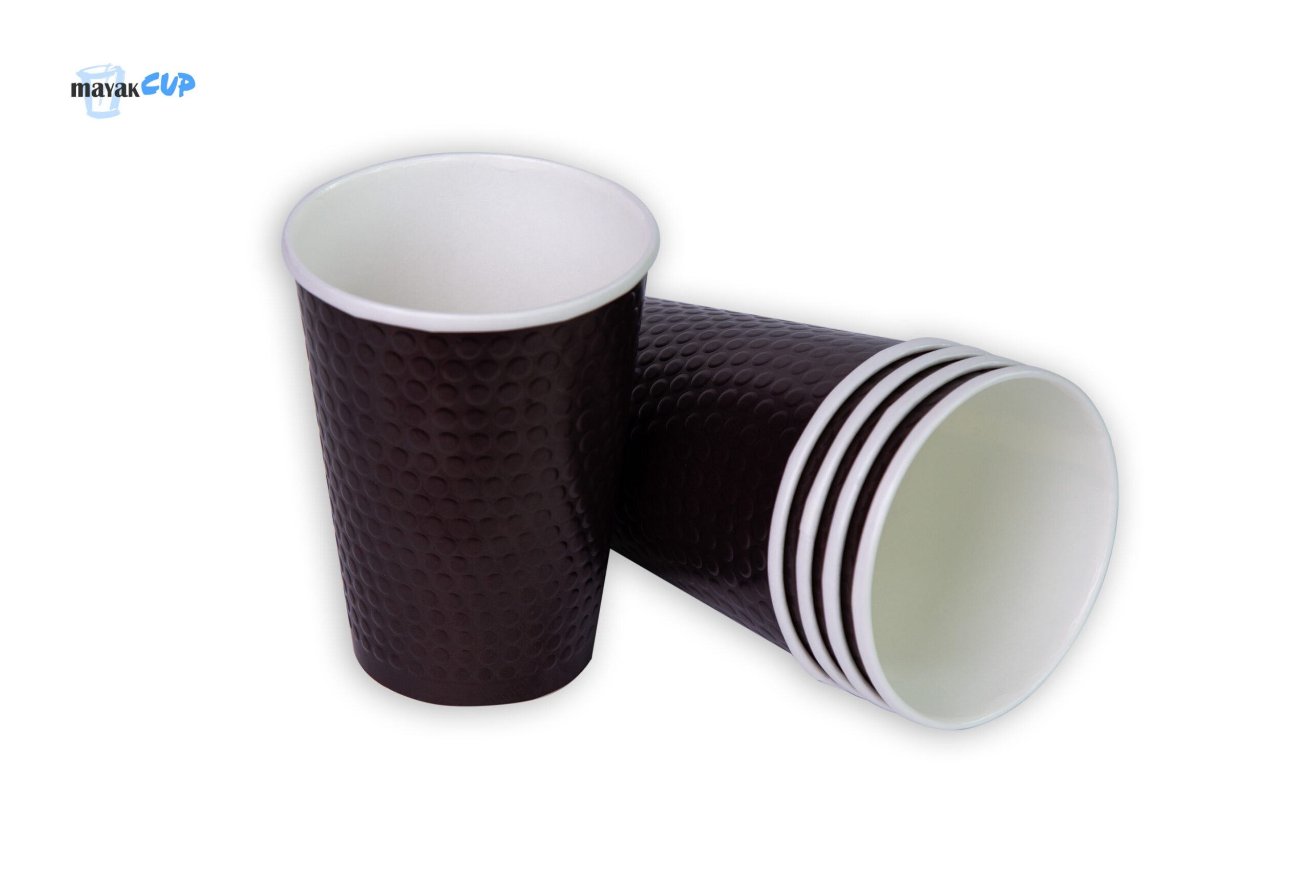 """Paper CUPS """"Bubble brown"""" 425 ml"""