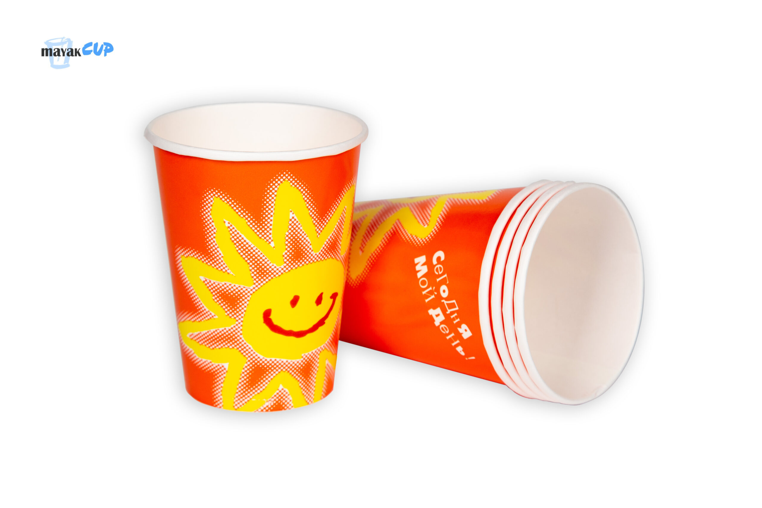 """Paper CUP 10oz """"Red sun"""""""