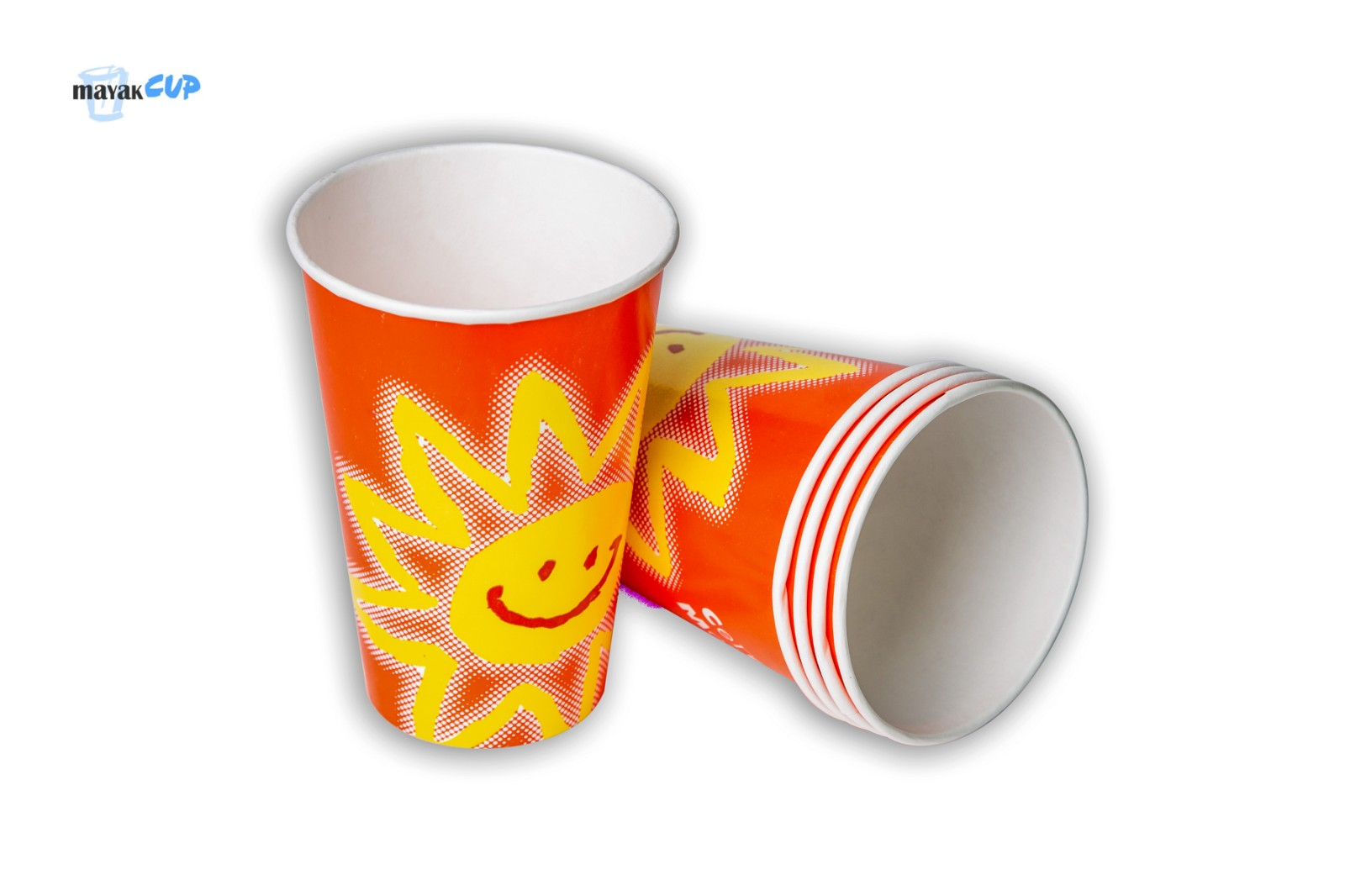 """Paper CUP 12oz """"Red sun"""""""