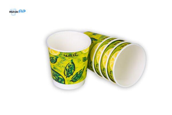 "Double-layer Cup 11oz ""Tea"" 285 ml"