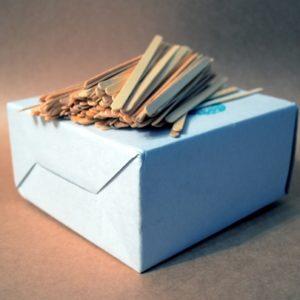 Мішалка дерев'яна для кави та чаю 14 мм