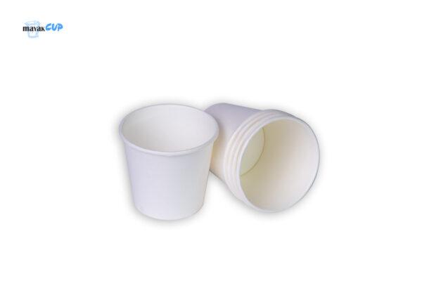 """Бумажный стакан 110 мл """"Белый"""" 213 г/м2"""