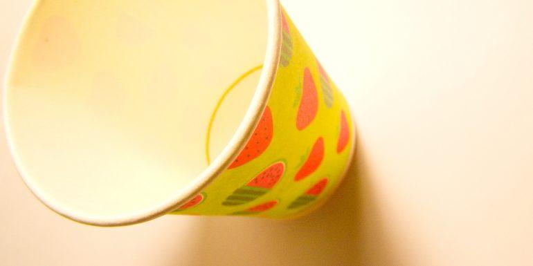 Бумажные стаканчики не только для кофе